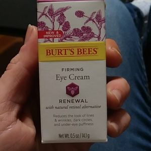 Eye cream - burts bees